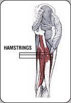 Hamstring Verletzung